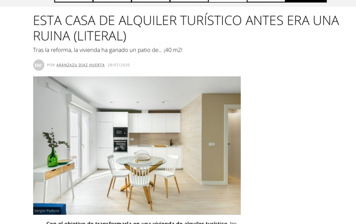 Joana Aranda casas a punto